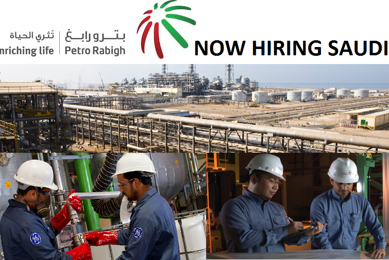 Jobs In Rabigh Refining and Petrochemical Company Saudi